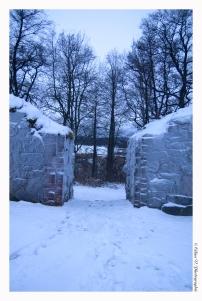 Pyhän birgitan rauniokirkko (Les ruines de l'église), Vihti