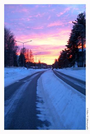 Lapland - Sunrise
