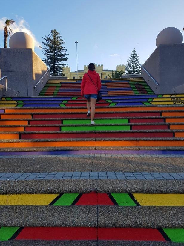 Marches colorées